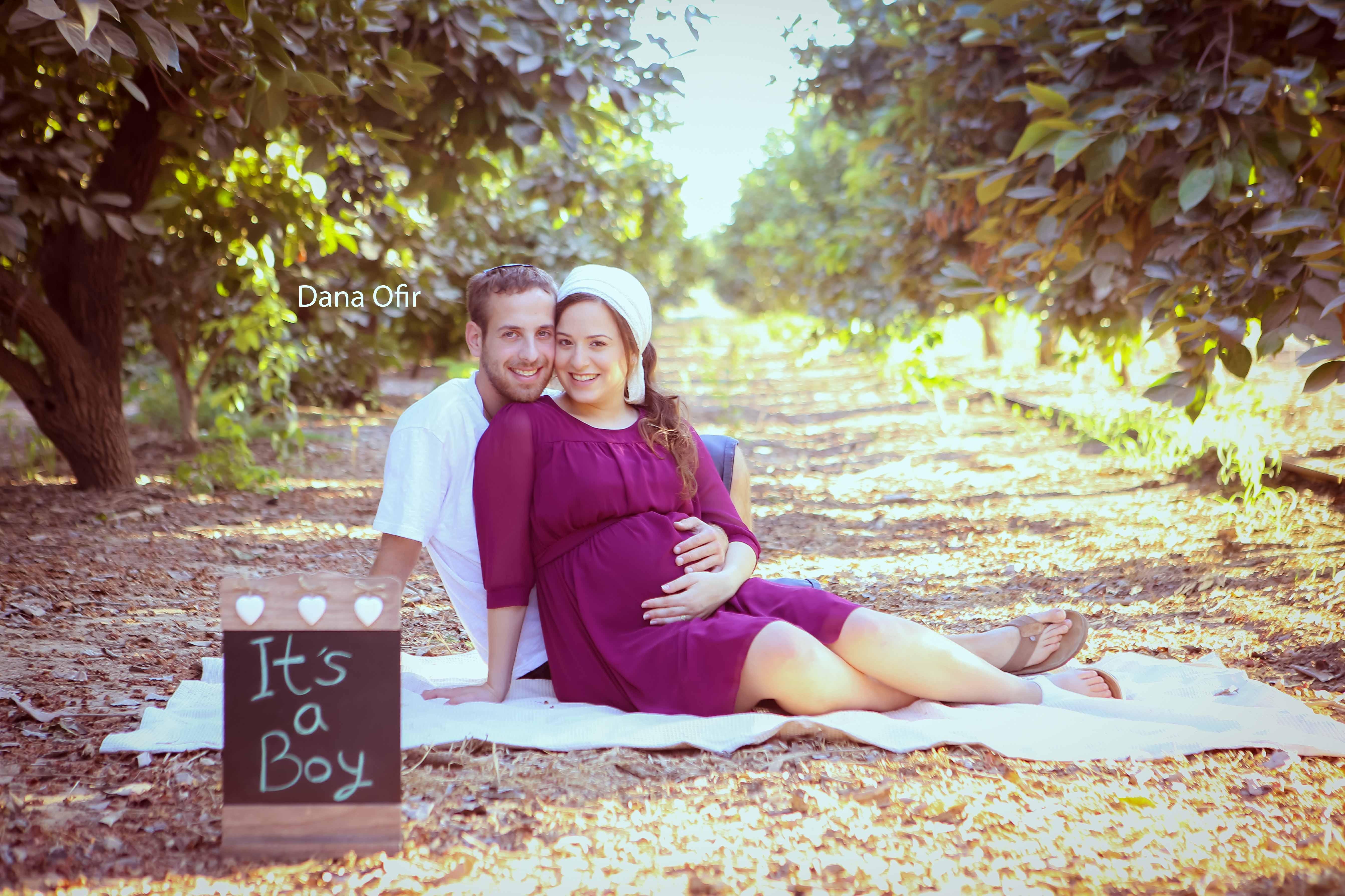 צילום הריון בטבע - איך לבחור צילומי הריון בטבע