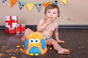 צילומי תינוקות קייקסמאש נגד הבייבי