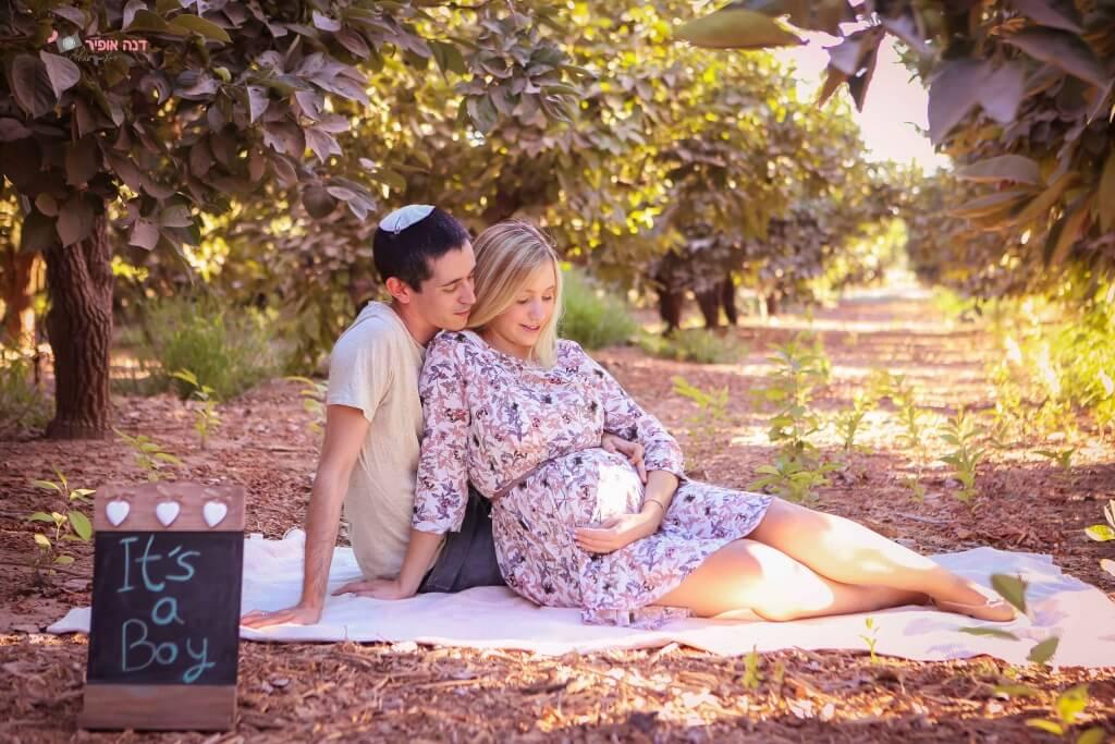 צילומי הריון בטבע - מיתוסים