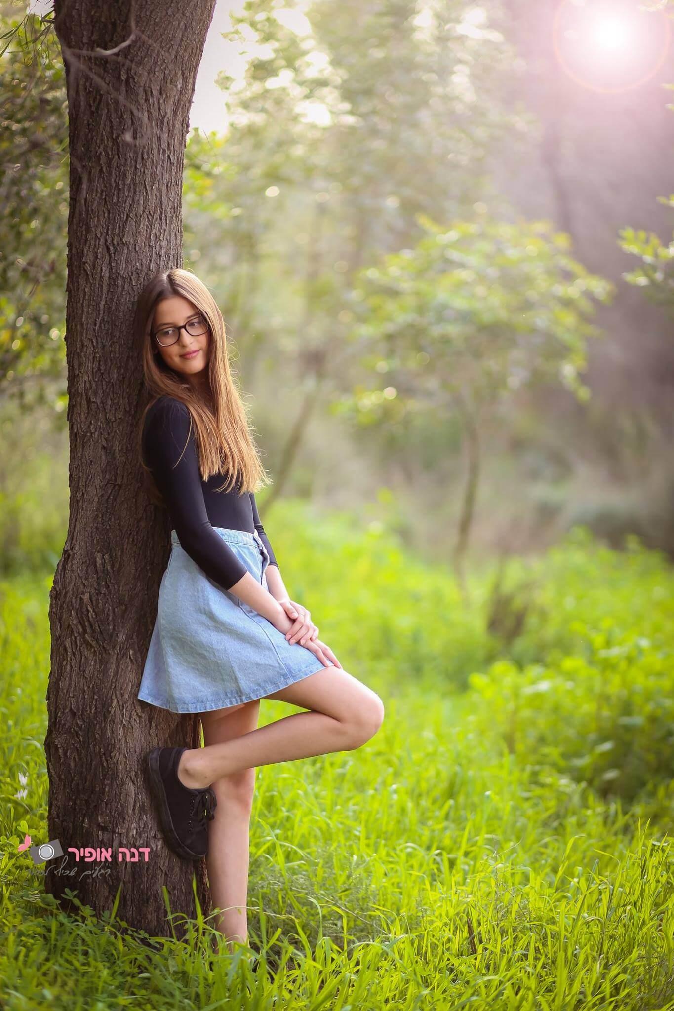 צילום בוק בת מצווה בטבע - דנה אופיר