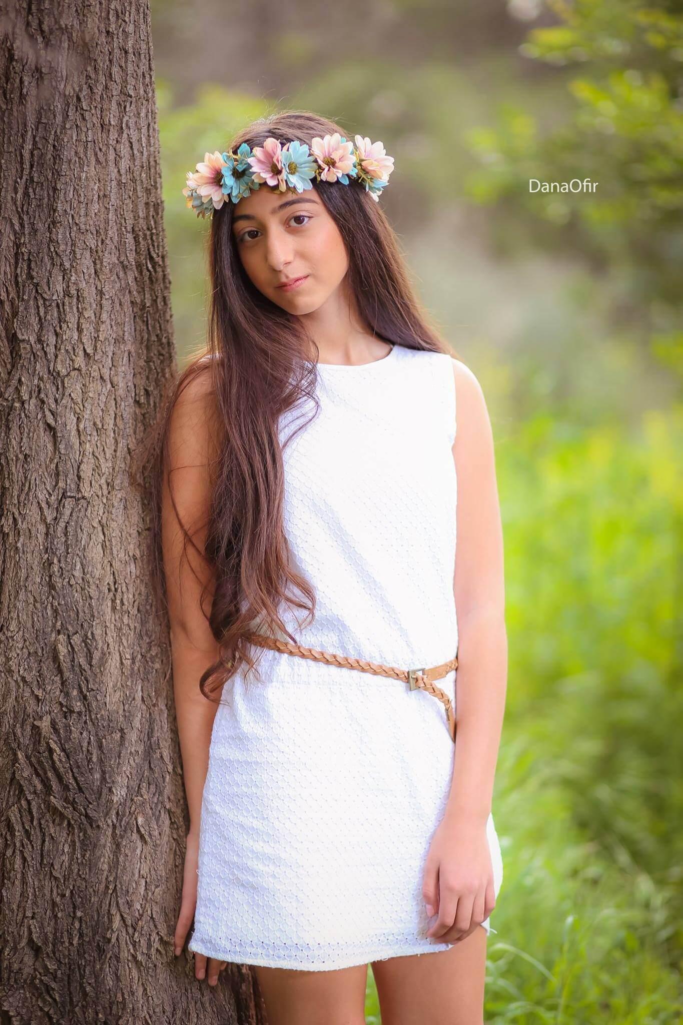 בוק בת מצווה בטבע, שירה - סטודיו דנה אופיר