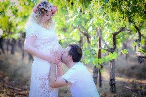 צילומי הריון זוגי, צילום הריון בטבע - דנה אופיר