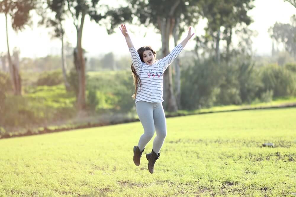 בוק בת מצווה בטבע - צילום דנה אופיר