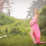 תמונת צילום הריון בטבע